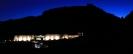 Côte-Rôtie, Cave Vidal-Fleury de nuit.